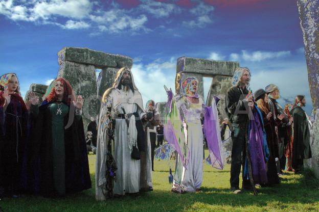 Stonehenge Druid ceremony